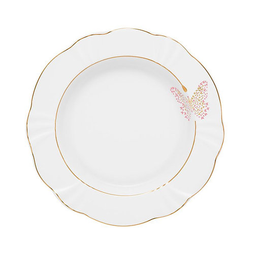 Prato Raso de Porcelana Solei Encantada 29cm Oxford