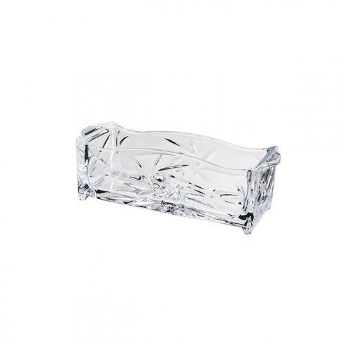 Porta Talher de Cristal Prima 27x8x9cm - Lyor