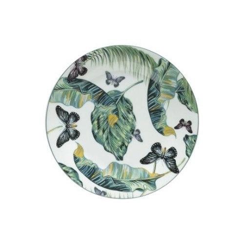 Prato Sobremesa em Porcelana Nature - Lyor