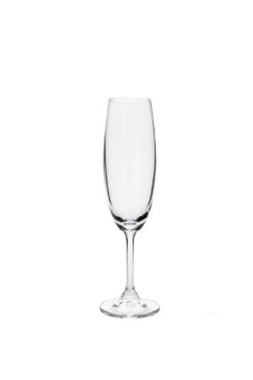 Taça de Cristal Ecológico p/ Champanhe Sommelier 220ml Transparente - Bohemia