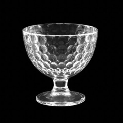 Taça Sobremesa de Vidro Bolhas 298ml - Lyor