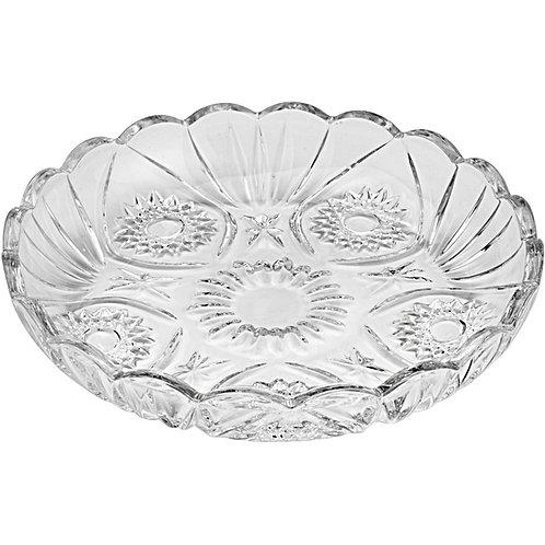 Prato Sobremesa de Cristal Prima 18cm - Lyor