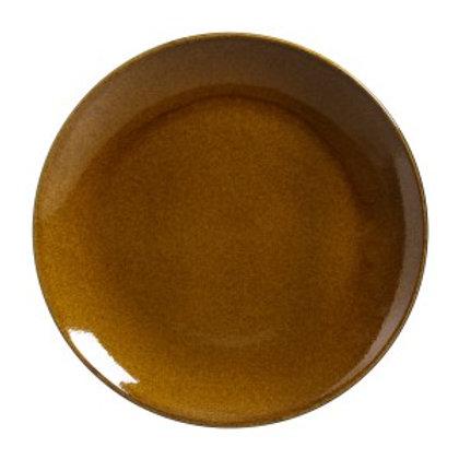 Prato Sobremesa Stoneware Âmbar 19,4cm  - Porto Brasil