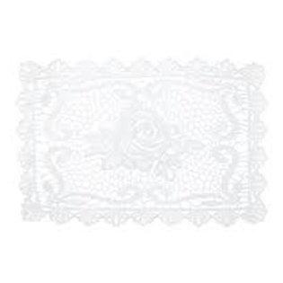 Lugar Americano em Crochê de Algodão Flower 45x30 - Lyor