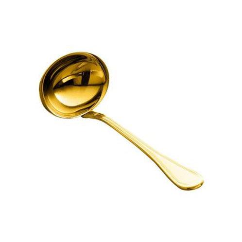 Concha para Molho em Aço Inox Avalon Dourado - Wolff