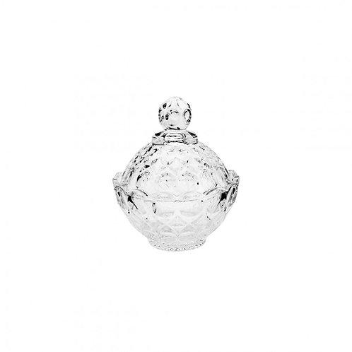 Potiche Decorativo de Cristal Angel Transparente 10,5x11cm Wolff