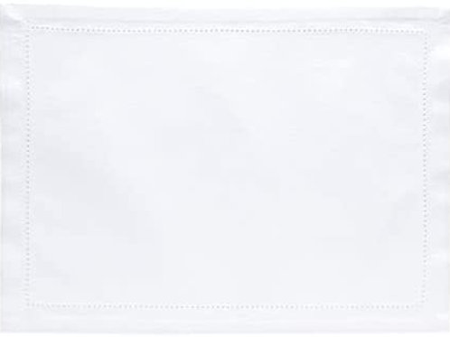 Lugar Americano Ponto Ajour Branco 45x33