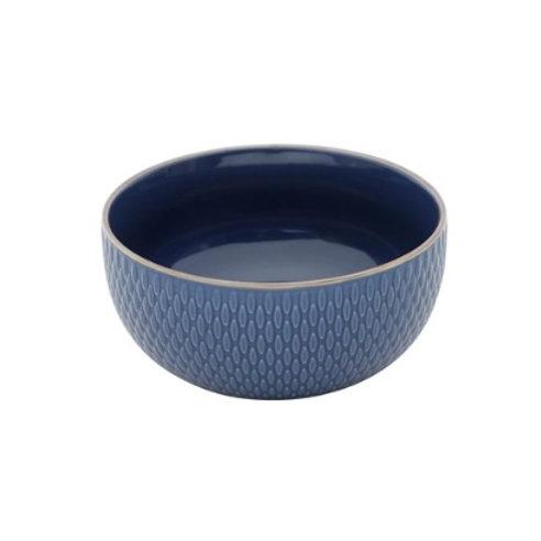 Bowl de Porcelana Drops Azul 700ml - Wolff