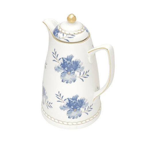 Garrafa Térmica de Porcelana Floral 900ml Wolff