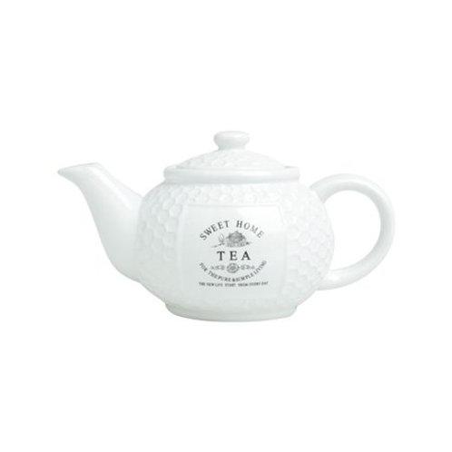 Bule de Porcelana p/ Café Sweet Home 1,115ml