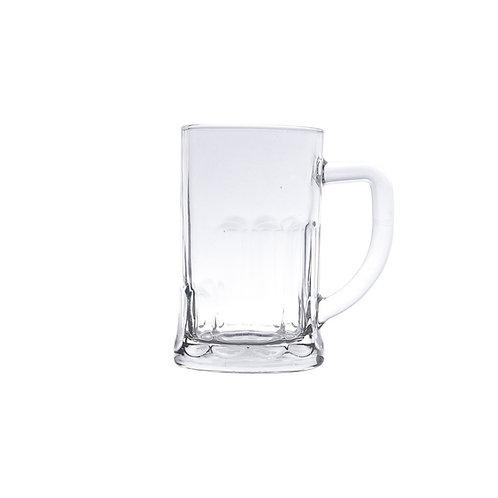 Caneca p/ Chopp e Cerveja de Vidro Sodo-Calcico 565ml - Lyor