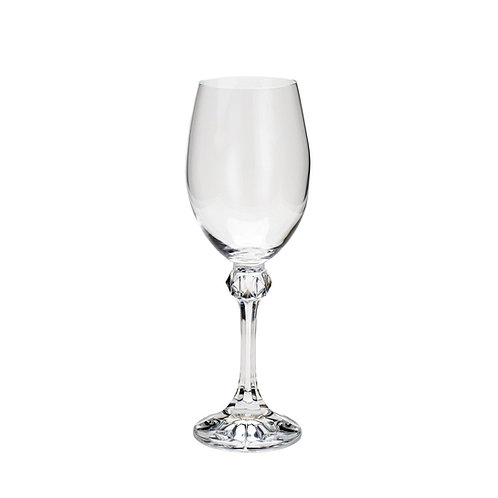Taça de Cristal Ecológico p/ Vinho Tinto Elisa 350ml - Bohemia
