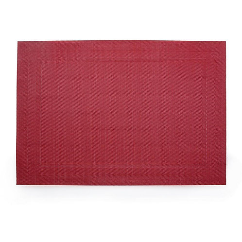 Lugar Americano Moldura Vermelho 30x45cm
