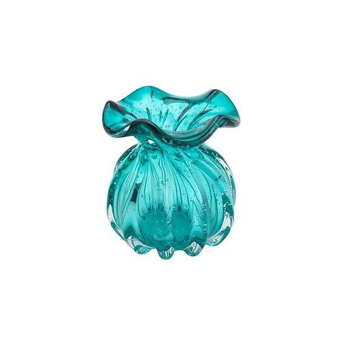 Vaso Murano Italy Tiffany 11,5x13cm - Lyor