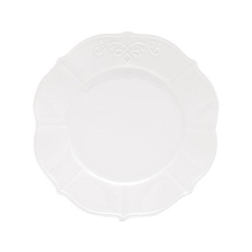 Prato Sobremesa 19cm de Porcelana Super White Genebra - Lyor