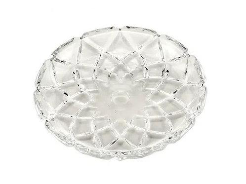 Prato Sobremesa de Cristal Deli 18,5cm - Lyor