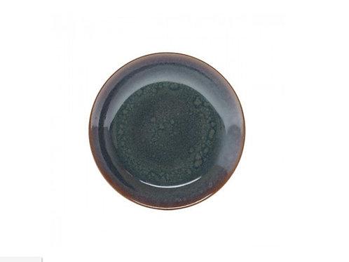 Prato Fundo De Porcelana Reactive Glaze