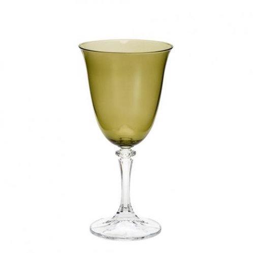Taça de Cristal Ecológico para Água kleopatra Kale 360ml-Bohemia