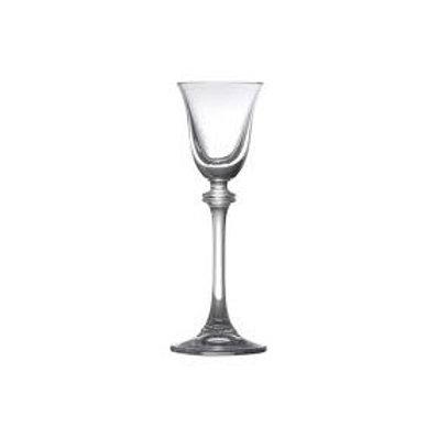 Taça de Cristal Bohemia para Licor Alexandria Transparente 60ml