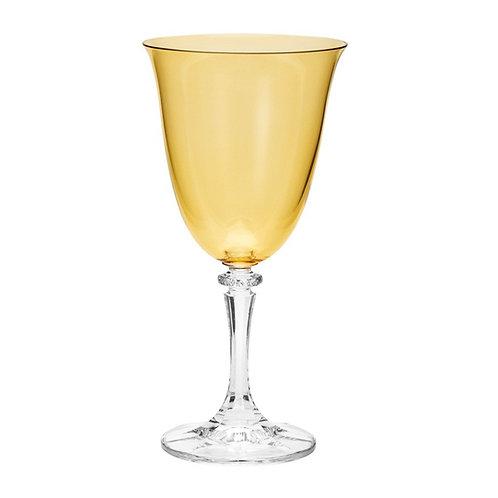 Taça de Cristal Ecológico para Vinho Tinto kleopatra Âmbar 290ml-Bohemia