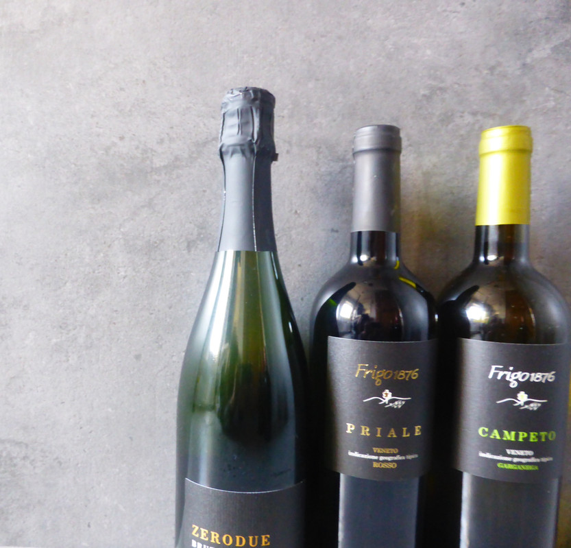 frigowine black label bottles