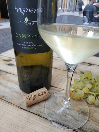 CAMPETO frigowine on the table