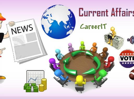 International events Part - I : CLAT 2017 Current affairs April 2016