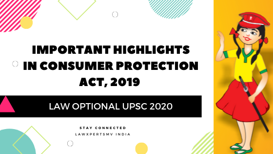 Consumer Protection Act 2019 Notes
