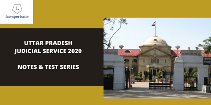 Uttar Pradesh Judicial Service : Notes and Test Series