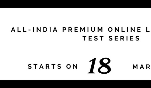 ALL INDIA LAW OPTIONAL PREMIUM TEST SERIES 2018