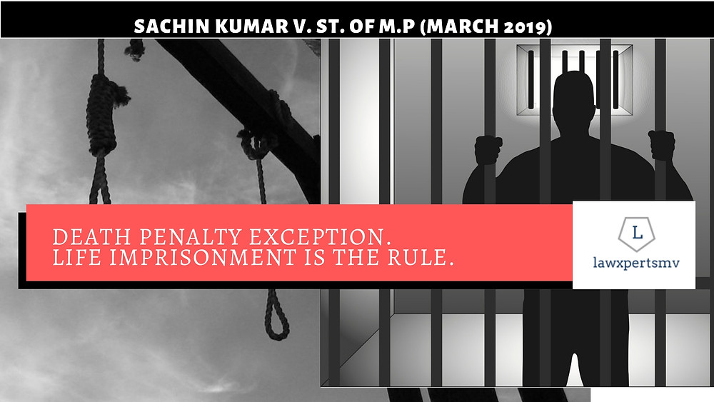 Death Penalty is exception life imprisonment is rule Law Optional Current Affairs 2019 Indian Penal code.