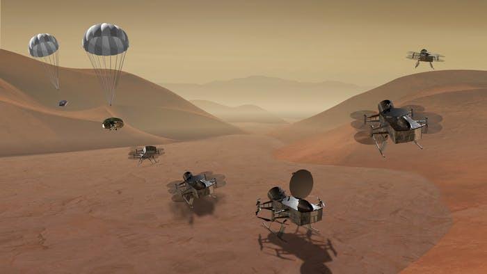 CAESAR MISSION, DRAGONFLY PROJECT NASA