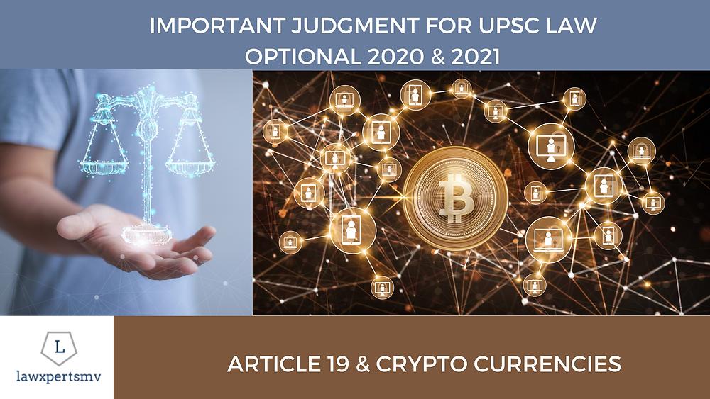 UPSC Law Optional 2020 & 2021 Current Affairs