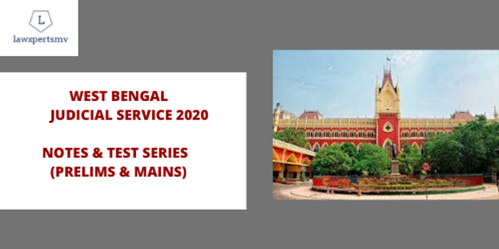 West Bengal Judicial Service : Notes & Test Series