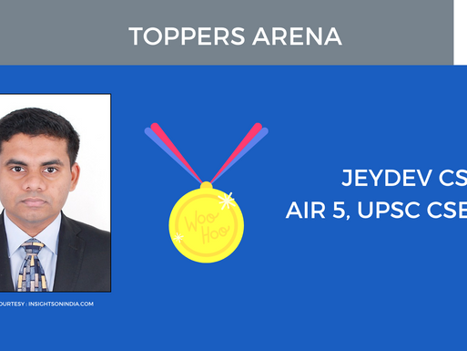 AIR 5 : 2019 UPSC CSE : Jeydev C.S. | How to make revision notes for Law Optional Mains | Series : 1