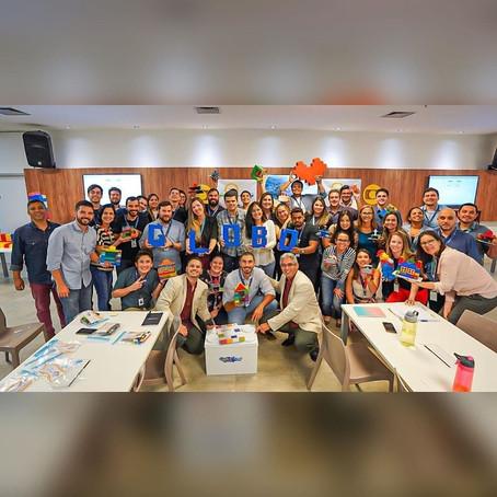 CREARE Corporativo realiza treinamento na Globo Nordeste.