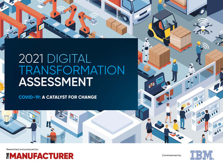 COVID-19 has Accelerated Digital Transformation for Manufacturers