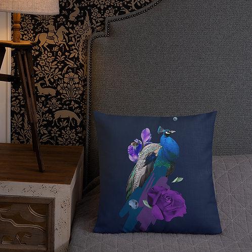 Prim peacock Pillow