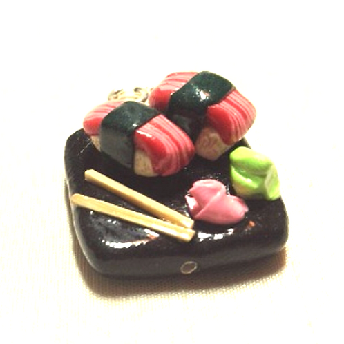 Sashimi Plate charm