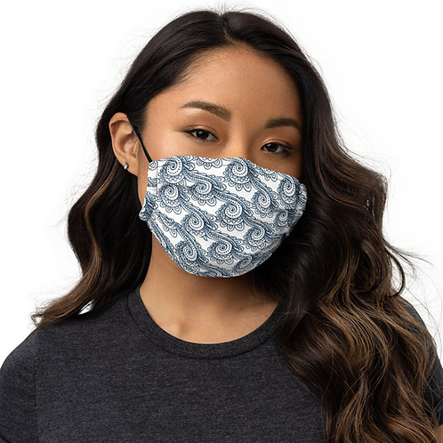 Waves face mask