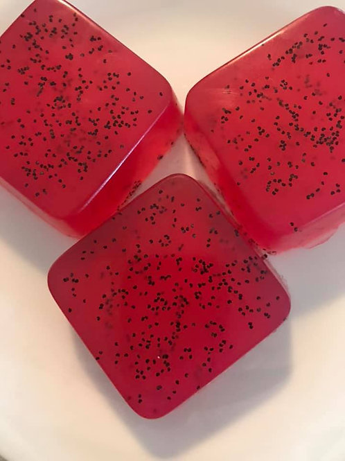 Raspberry Limeade soap