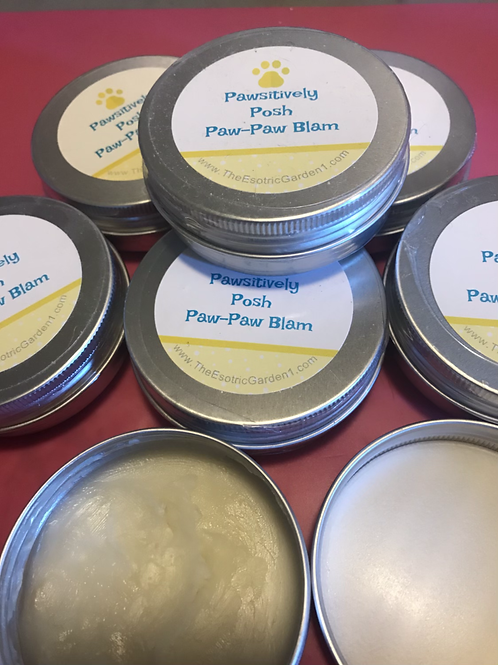 Positively posh Paw-paw balm