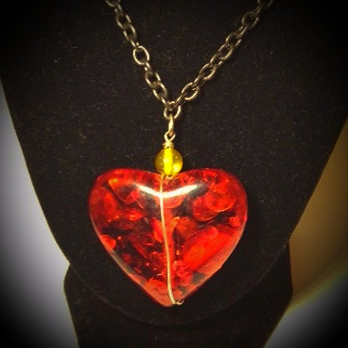 Lion Heart Necklace