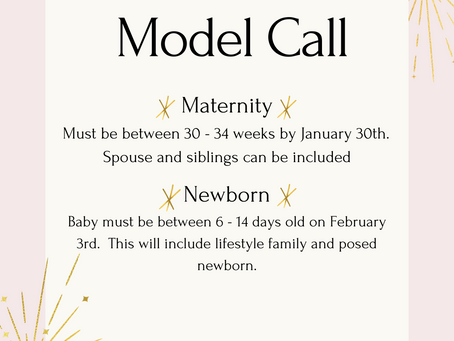 Winter 2021 Model Call