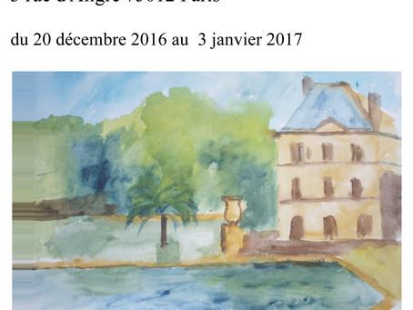 EXPOSITION DE ANNE GARY
