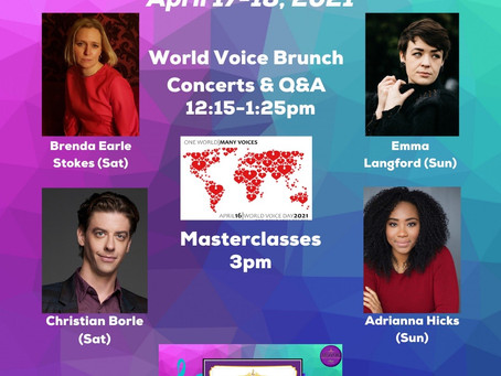 World Voice Weekend: One World, Many Voices