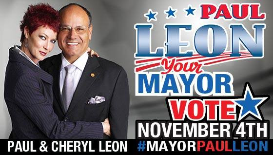 Ontario Mayor Paul Leon