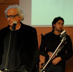 con Stefano Benni