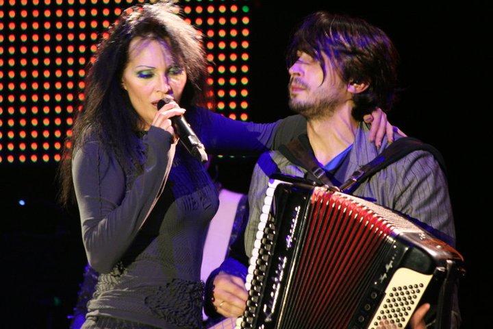 con Anna Oxa
