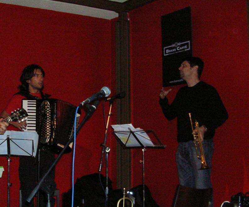 con Marco Tamburini